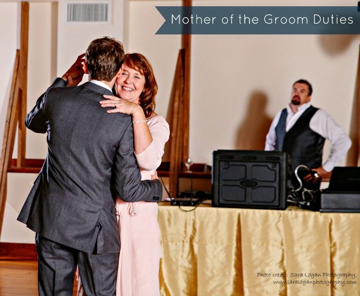 The Mother of Groom Responsibilities