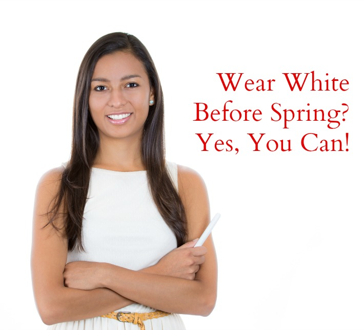 can you wear white in the winter?