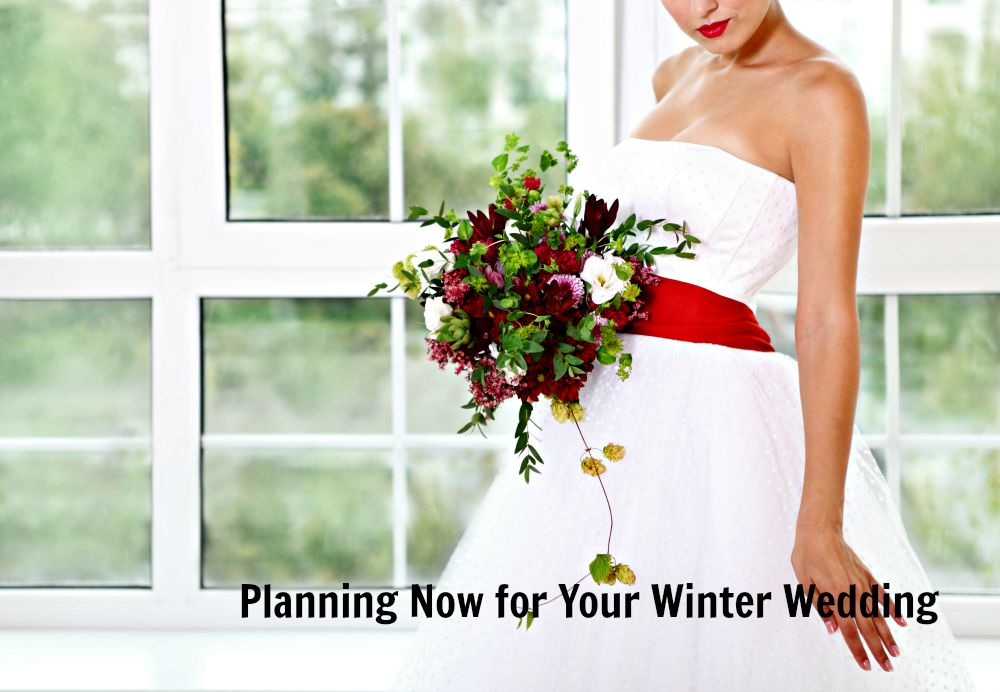 How to plan for your winter wedding in the summer
