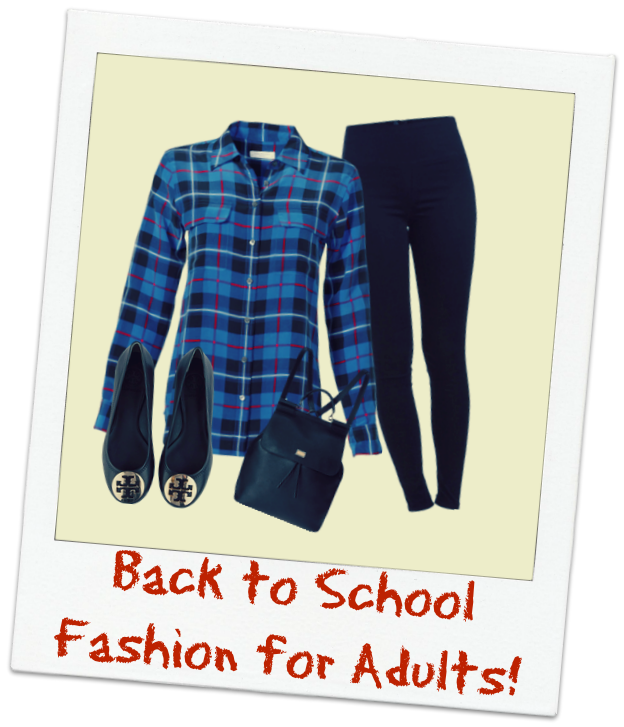 back to school fashion isn't just for the kids!