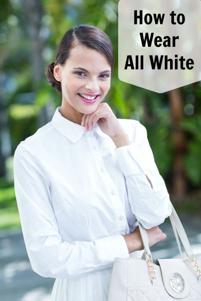 how to wear an all white outfit and look awesome