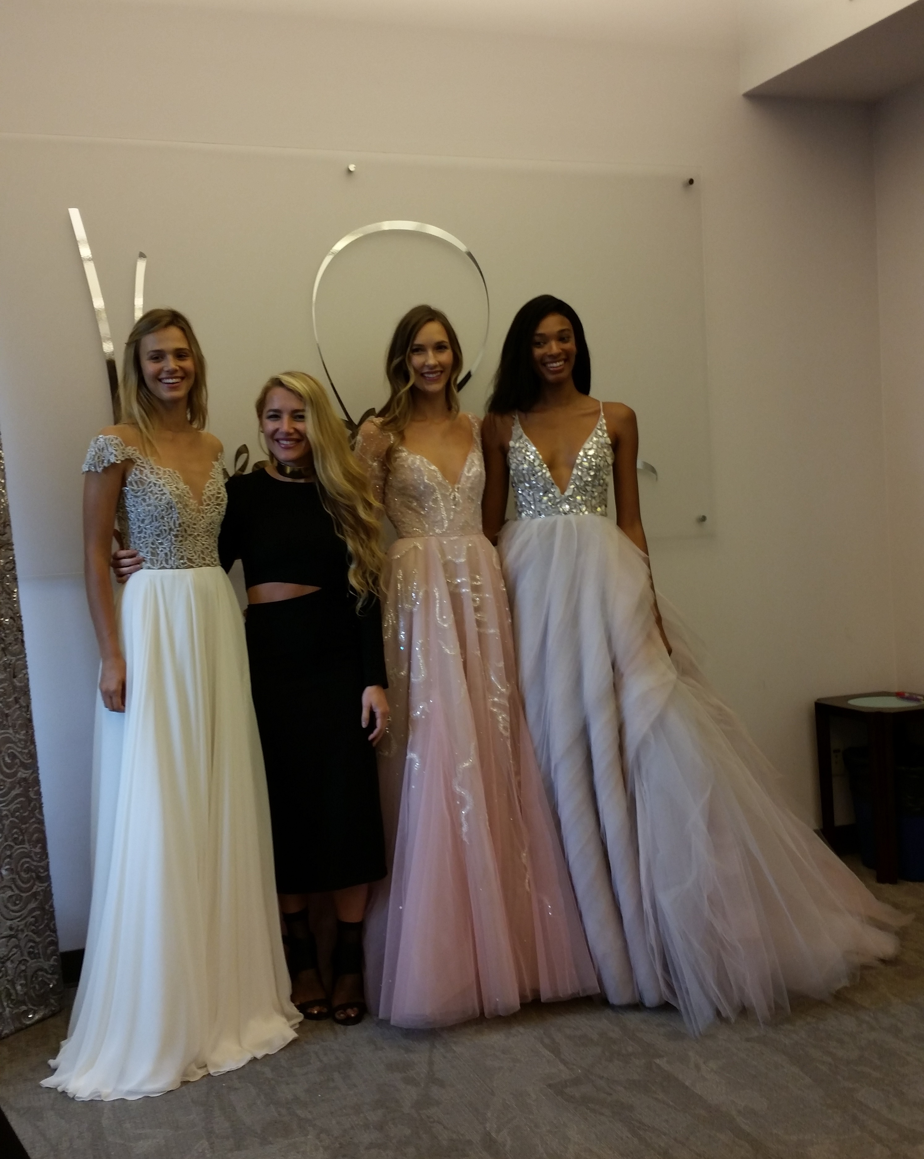 LOW BACKS…whether the dress is strapless e1c10b286